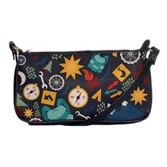 Compass Cypress Chair Arrow Wheel Star Mountain Shoulder Clutch Bags by Mariart