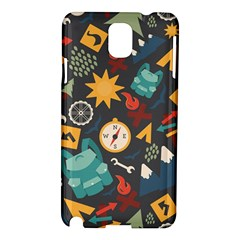 Compass Cypress Chair Arrow Wheel Star Mountain Samsung Galaxy Note 3 N9005 Hardshell Case by Mariart