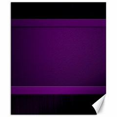 Board Purple Line Canvas 20  X 24   by Mariart