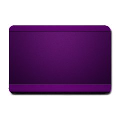 Board Purple Line Small Doormat  by Mariart