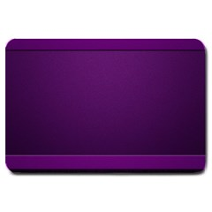 Board Purple Line Large Doormat  by Mariart