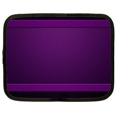 Board Purple Line Netbook Case (large) by Mariart