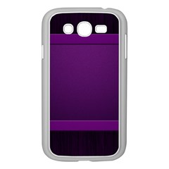 Board Purple Line Samsung Galaxy Grand Duos I9082 Case (white) by Mariart