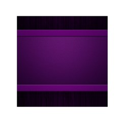 Board Purple Line Small Satin Scarf (square) by Mariart