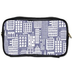 Building Citi Town Cityscape Toiletries Bags by Mariart