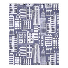 Building Citi Town Cityscape Shower Curtain 60  X 72  (medium)  by Mariart