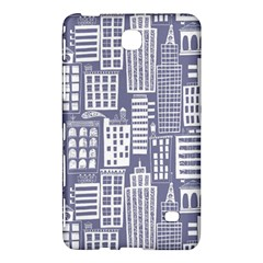 Building Citi Town Cityscape Samsung Galaxy Tab 4 (7 ) Hardshell Case  by Mariart