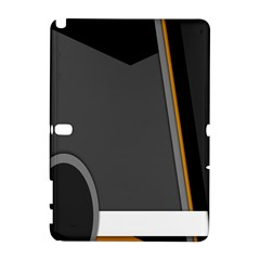 Flag Grey Orange Circle Polka Hole Space Galaxy Note 1 by Mariart