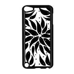 Flower Fish Black Swim Apple Ipod Touch 5 Case (black) by Mariart