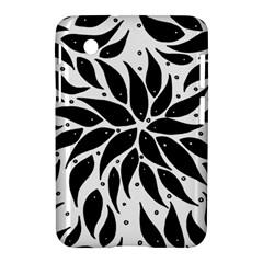 Flower Fish Black Swim Samsung Galaxy Tab 2 (7 ) P3100 Hardshell Case  by Mariart