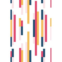 Geometric Line Vertical Rainbow 5 5  X 8 5  Notebooks by Mariart