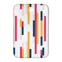 Geometric Line Vertical Rainbow Samsung Galaxy Note 8 0 N5100 Hardshell Case  by Mariart