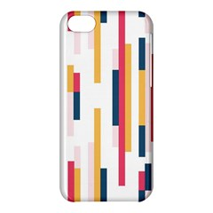 Geometric Line Vertical Rainbow Apple Iphone 5c Hardshell Case by Mariart