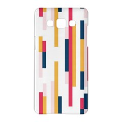 Geometric Line Vertical Rainbow Samsung Galaxy A5 Hardshell Case  by Mariart