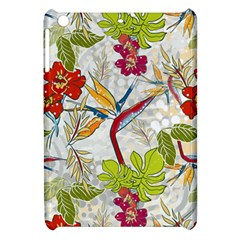 Flower Floral Red Green Tropical Apple Ipad Mini Hardshell Case by Mariart
