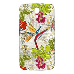 Flower Floral Red Green Tropical Samsung Galaxy Mega I9200 Hardshell Back Case by Mariart