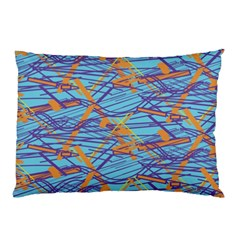 Geometric Line Cable Love Pillow Case by Mariart