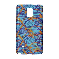 Geometric Line Cable Love Samsung Galaxy Note 4 Hardshell Case by Mariart