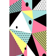 Geometric Polka Triangle Dots Line 5 5  X 8 5  Notebooks by Mariart