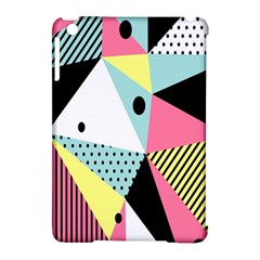 Geometric Polka Triangle Dots Line Apple Ipad Mini Hardshell Case (compatible With Smart Cover) by Mariart