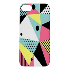 Geometric Polka Triangle Dots Line Apple Iphone 5s/ Se Hardshell Case