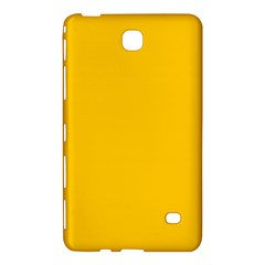 Amber Solid Color  Samsung Galaxy Tab 4 (7 ) Hardshell Case  by SimplyColor