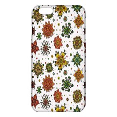 Flower Floral Sunflower Rose Pattern Base Iphone 6 Plus/6s Plus Tpu Case by Mariart