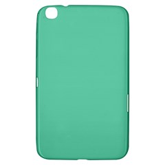 Aquamarine Solid Color  Samsung Galaxy Tab 3 (8 ) T3100 Hardshell Case  by SimplyColor