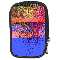 Glitchdrips Shadow Color Fire Compact Camera Cases by Mariart