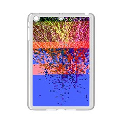 Glitchdrips Shadow Color Fire Ipad Mini 2 Enamel Coated Cases by Mariart