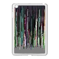 Heimbold Sign Random Shadow Line Vertical Light Apple Ipad Mini Case (white) by Mariart