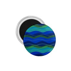 Geometric Line Wave Chevron Waves Novelty 1 75  Magnets by Mariart