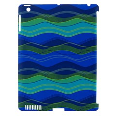 Geometric Line Wave Chevron Waves Novelty Apple Ipad 3/4 Hardshell Case (compatible With Smart Cover) by Mariart