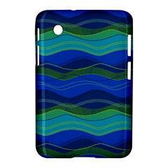 Geometric Line Wave Chevron Waves Novelty Samsung Galaxy Tab 2 (7 ) P3100 Hardshell Case  by Mariart
