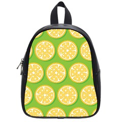 Lime Orange Yellow Green Fruit School Bags (small)  by Mariart
