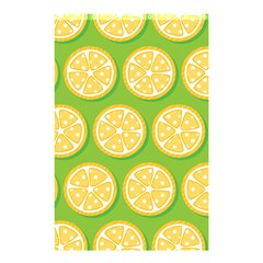 Lime Orange Yellow Green Fruit Shower Curtain 48  X 72  (small)  by Mariart