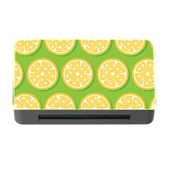 Lime Orange Yellow Green Fruit Memory Card Reader With Cf by Mariart