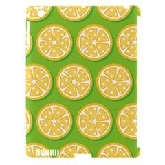 Lime Orange Yellow Green Fruit Apple Ipad 3/4 Hardshell Case (compatible With Smart Cover) by Mariart