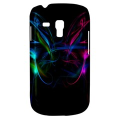 Light Waves Light Red Blue Galaxy S3 Mini by Mariart