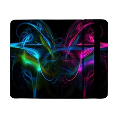 Light Waves Light Red Blue Samsung Galaxy Tab Pro 8 4  Flip Case by Mariart