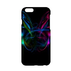 Light Waves Light Red Blue Apple Iphone 6/6s Hardshell Case by Mariart