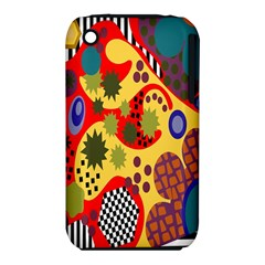Line Star Polka Dots Plaid Circle Iphone 3s/3gs by Mariart