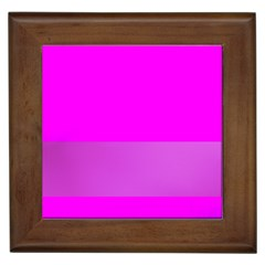 Line Pink Framed Tiles by Mariart