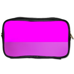 Line Pink Toiletries Bags 2 Side by Mariart