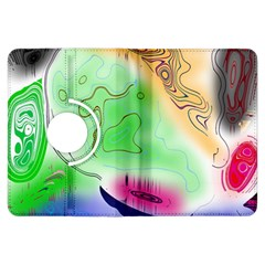 Mirror Light Kindle Fire Hdx Flip 360 Case by Mariart