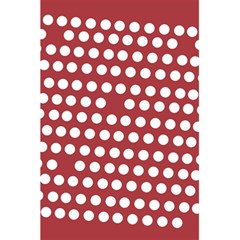 Pink White Polka Dots 5 5  X 8 5  Notebooks by Mariart