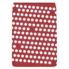 Pink White Polka Dots Flap Covers (s)  by Mariart