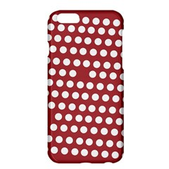 Pink White Polka Dots Apple Iphone 6 Plus/6s Plus Hardshell Case by Mariart