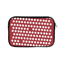 Pink White Polka Dots Apple Macbook Pro 13  Zipper Case by Mariart