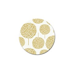 Loboloup Hydrangea Quote Floral And Botanical Flower Golf Ball Marker by Mariart